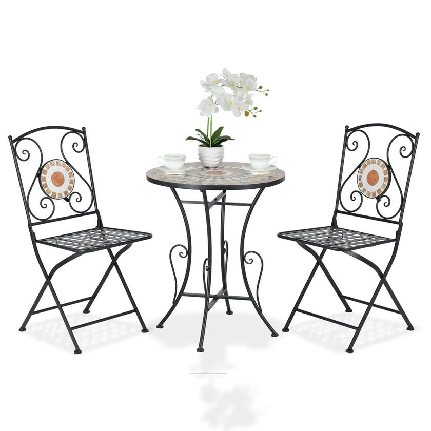 Marley Bistro Table Set With 2 Chairs