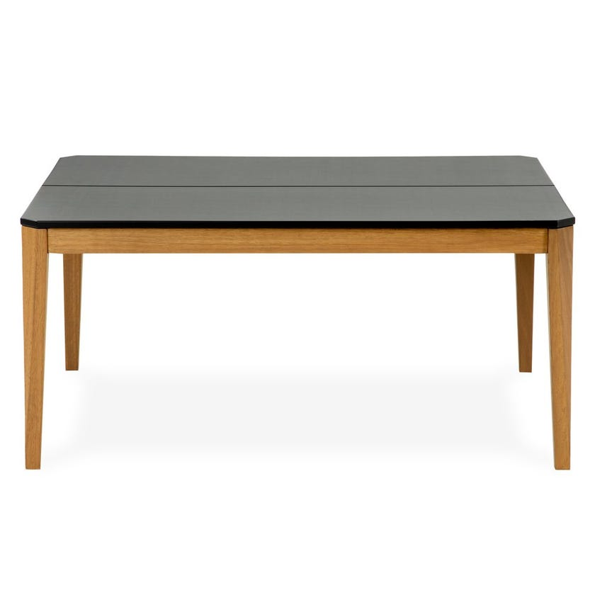 Maui Wooden Coffee Table - Grey