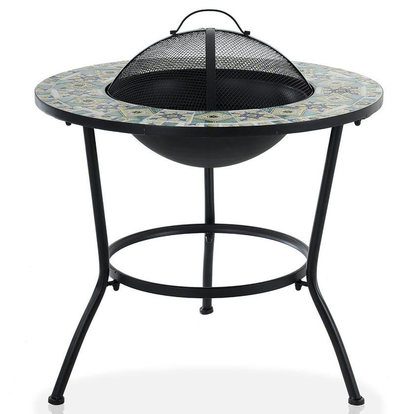 Batik Mosaic BBQ Table