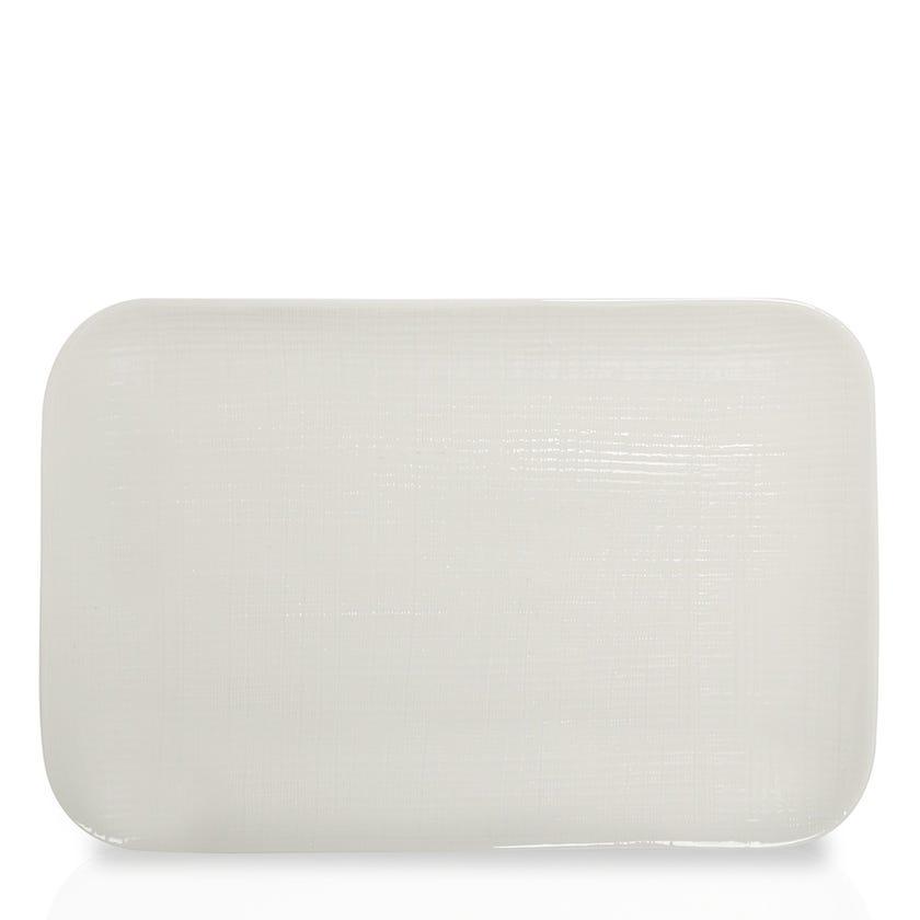 Symphony Porcelain Rectangular Platter - 39.5 x 26 cms