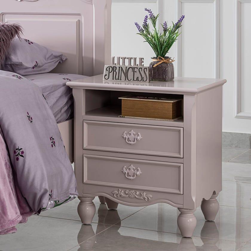 Jessica 2-drawer Nightstand