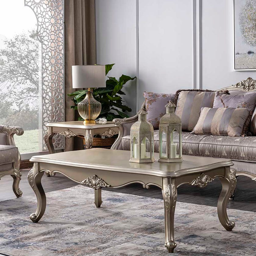 Hasina Wooden Coffee Table