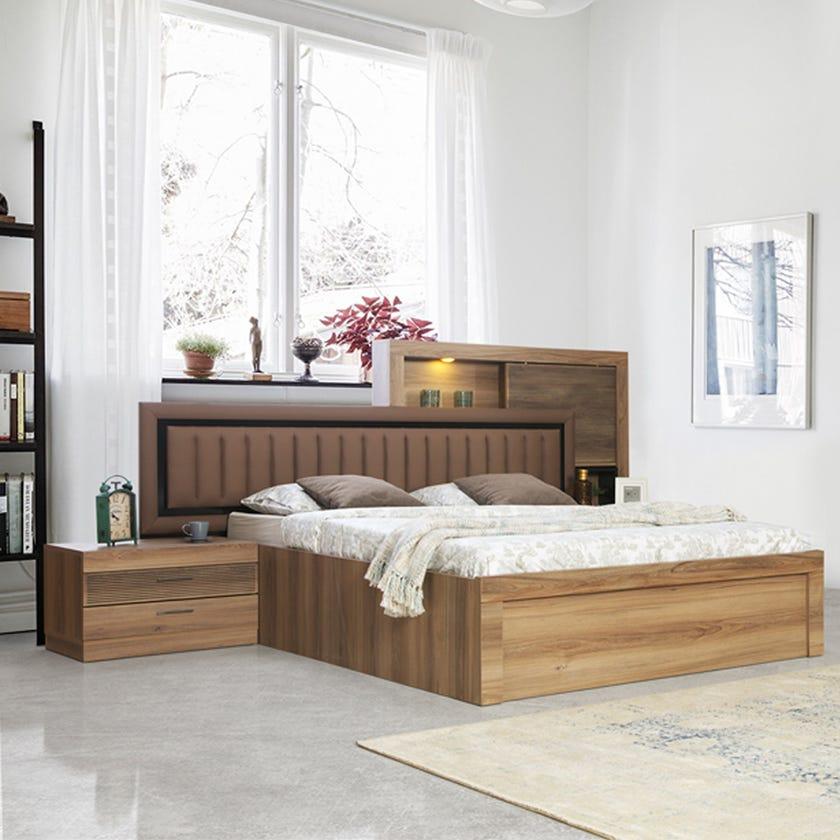 New Lindo 5-Piece King Size Bedroom Set - 180 x 200 cms